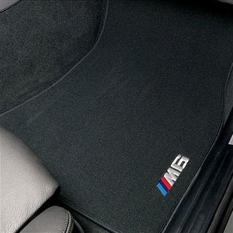 Bmw X3 Floor Mats 2007 by Shopbmwusa Bmw M6 Embroidered Carpeted Floor Mats