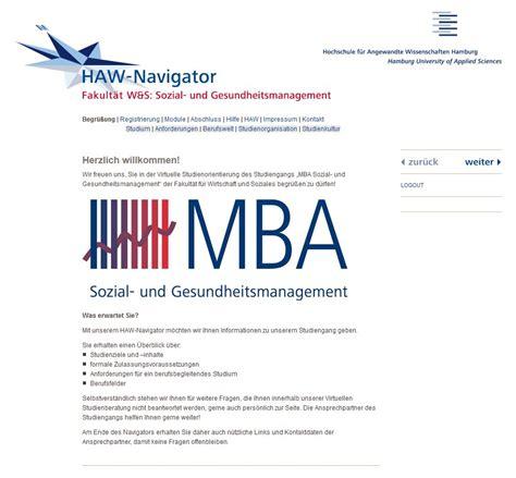 Haw Bewerbung Master Studienorientierung F 252 R Den Mba Sozial Und Gesundheitsmanagement An Der Haw Hamburg