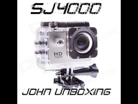 sj4000 gopro aliexpress unboxing
