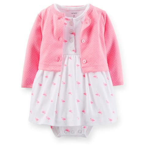 clothes for baby carters newborn 3 6 9 12 months cardigan dress set baby