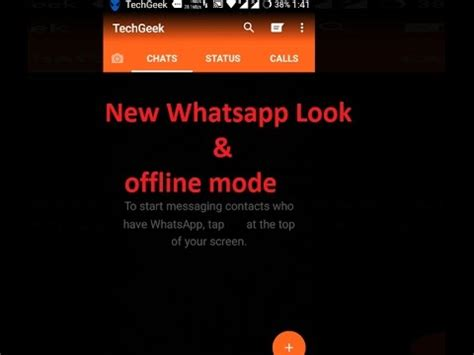 whatsapp chat themes download how to use whatsapp offline chat and customiztion with