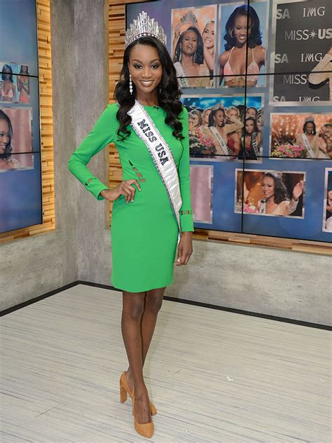 Miss Usa Eats It by Doughnuts And Bagels What Miss Usa Deshauna Barber Eats