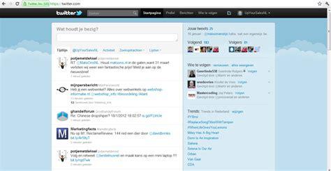 nieuwe layout twitter twitter test nieuwe layouts welke heb jij upyoursales nl