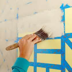 Painting A Wall by Painted Wall Grid
