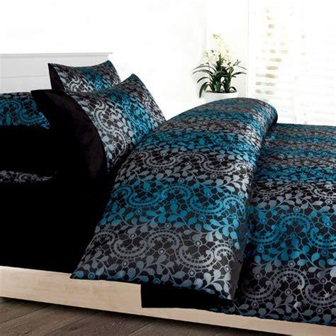 Black And Teal Duvet Cover Asher Teal Blue Black Grey Yarn Dyed Jacquard King Quilt