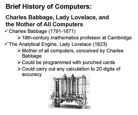 brief history of computer computer solution brief history of computers