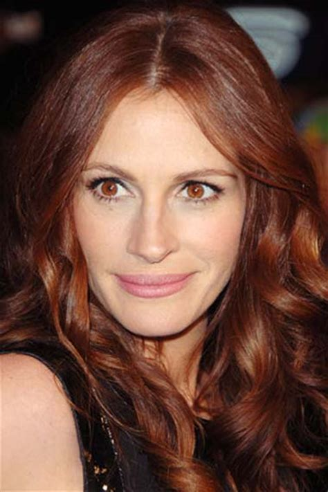 julia roberts red hair fascinating red haired celebrities