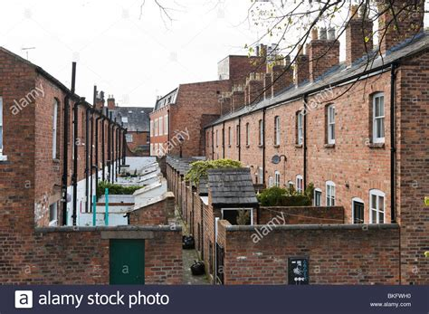 buy house in england rows of terraced houses chester cheshire england uk stock photo royalty free
