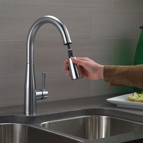 Bath4All   Delta 9113 BL DST Essa Pull Down Kitchen Faucet