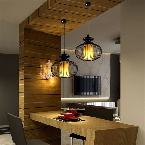 dining table lighting single pendant light japanese style brief ls coatroom
