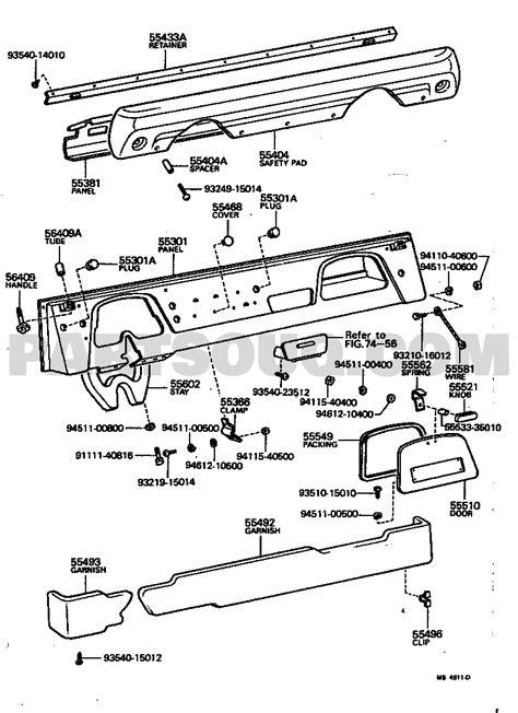 Toyota Fj Cruiser Parts Diagram