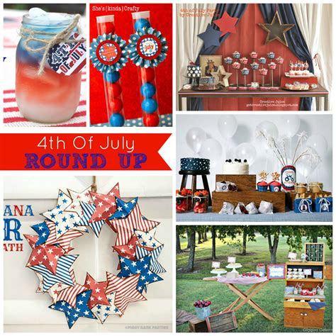 cupcake wishes birthday dreams weekly round up 15 patriotic july 4th parties ideas