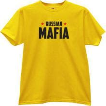 Dear Fashion Mafia Yellow Shirt by Mafia T Shirts Russian T Shirts Cccp Shirts Soviet T