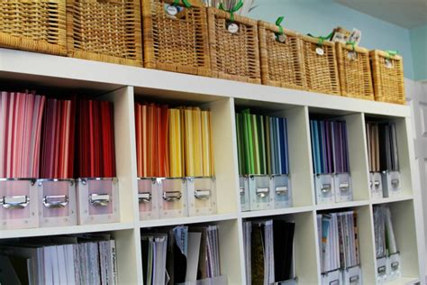 how to store craft paper craft room storage and organization ideas craft remedy