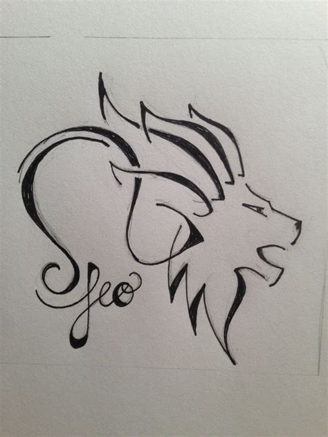 leo zodiac tattoos best 25 small leo ideas on small