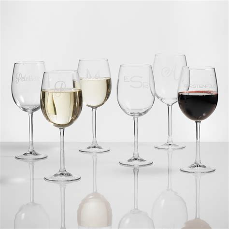 furniture home decor food wine gifts world market personalized wine glasses set of 4 world market