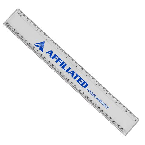 Plastic Ruler plastic rulers with imprint yourlogoworks