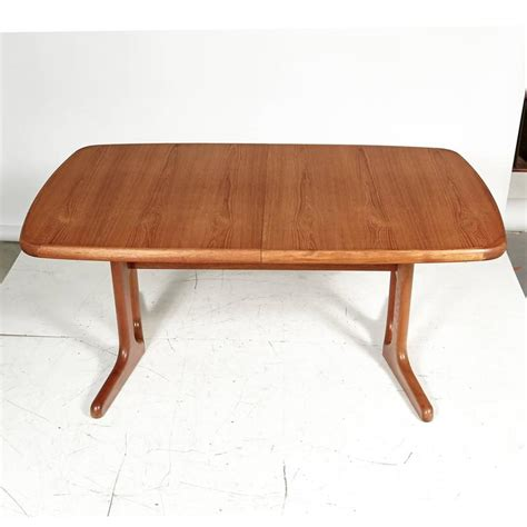 Teak Dining Room Table Teak Dining Room Table 1970s For Sale At 1stdibs