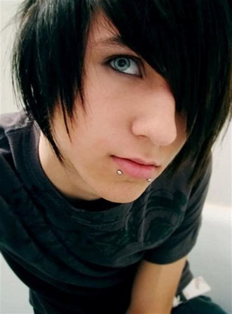 emo hairstyles black hair emo hairstyles for trendy guys emo guys haircuts