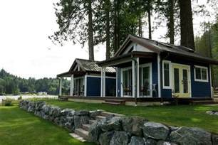 Small Homes In Washington State Wildwood Lakefront Tiny Cottage Community