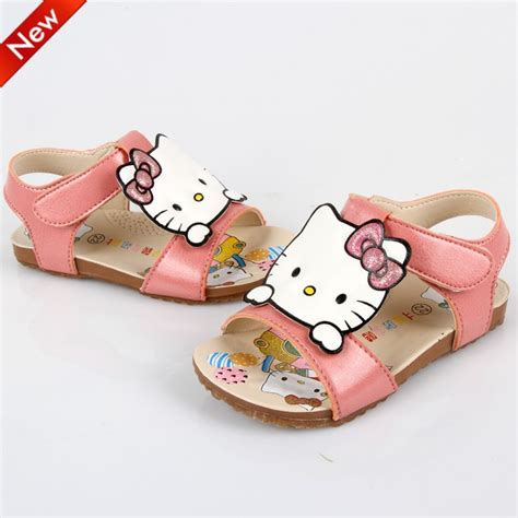 Sandal Wedges Spon Hello Dn19 Pink 1 new 2015 free shipping us 7 9 pink hello summer sandals children boots shoes in