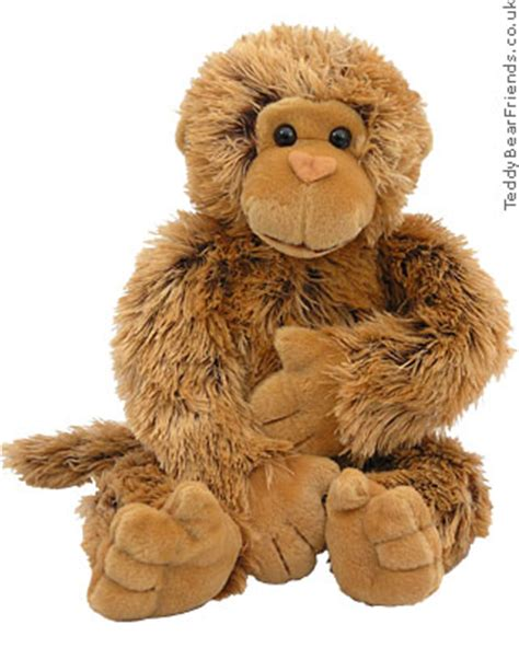 monkey teddy hermann teddy bear friends