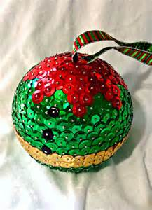 elf ornament sequin christmas ornament 4 by