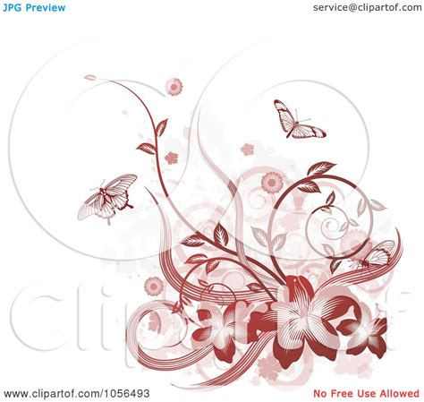 grunge design elements vector royalty free vector clip art illustration of a red