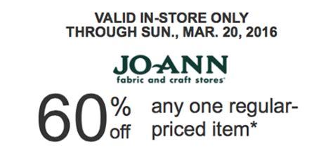 Coupon Calendar Utah Joann Fabric Craft Store Printable Coupon Coupons 4 Utah