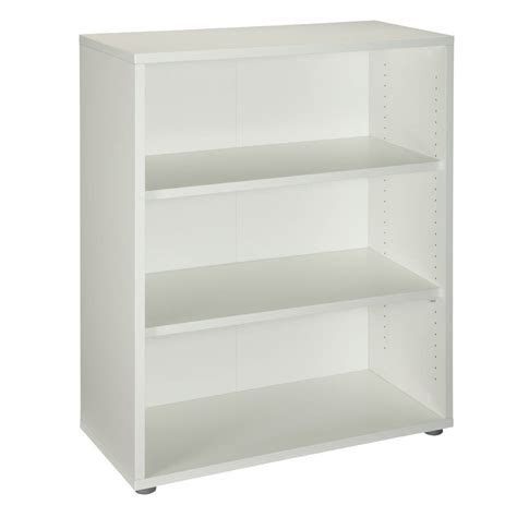 Tvilum Prima 2 Shelf Bookcase White Ebay Two Shelf White Bookcase