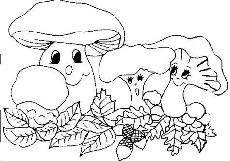 mushrooms coloring pages coloringpages1001 com