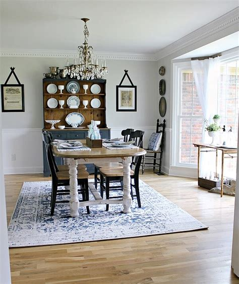 dining room makeover pictures farmhouse style table makeover for 20 how we did it and