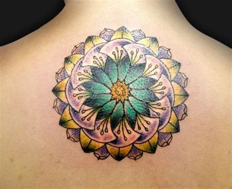 mandala colorati tattoo colorful mandala tattoo my body is a canvas tattoos