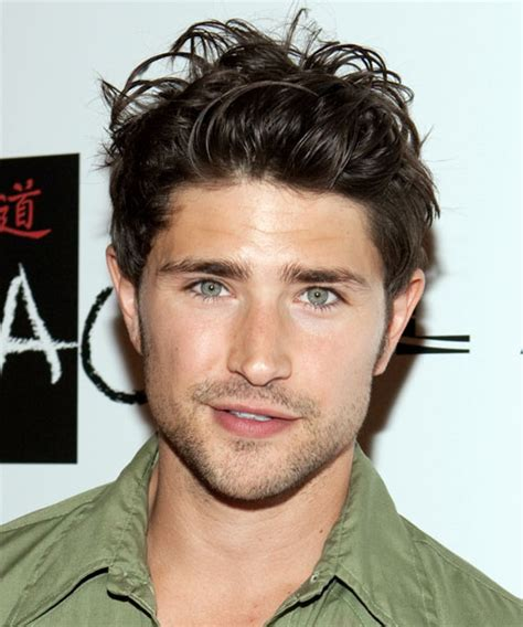Matt Dallas Short Straight Casual Hairstyle