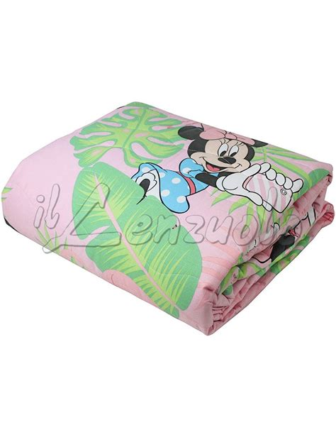 Copriletto Matrimoniale Disney by Copriletto Singolo Disney Minnie Palm Trapuntino