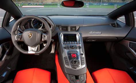 lamborghini inside 2013 lamborghini aventador gear heads
