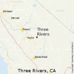 three rivers california map best places to live in three rivers california