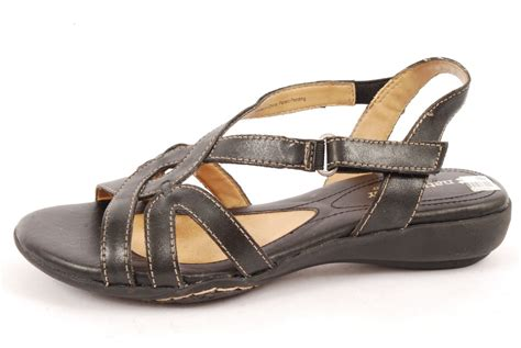 naturalizer msu black casual sandals women shoes   ebay