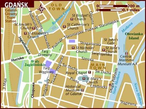 Map of Gdansk
