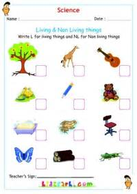 science living amp non living things