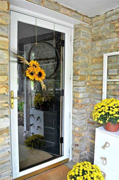fall wreath   front door   video