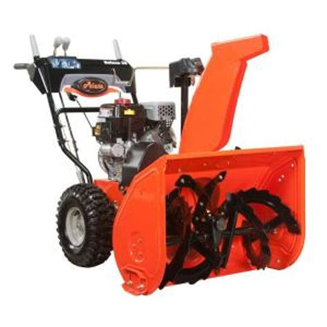 ariens deluxe 28 in two stage electric start gas snow