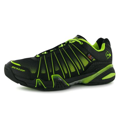squash sneakers dunlop ultimate tour mens squash shoes trainers blk grn