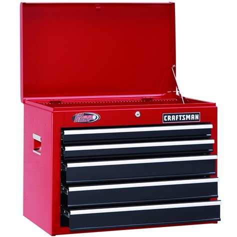 Craftsman 5 Drawer by Craftsman 105811 26 Quot Wide 5 Drawer Bearing Top