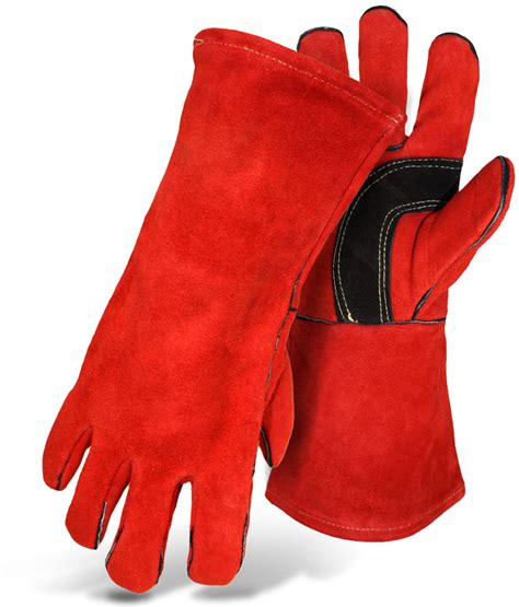 Fireplace Hearth Gloves by Fireplace Glove Fully Lined Split Leather Welder