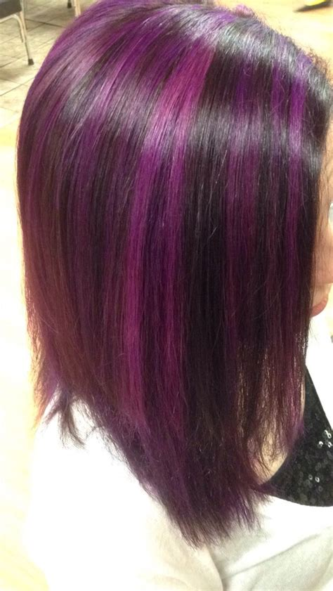 best purple shoo for highlights short hair colour the best short hairstyles for women 2016