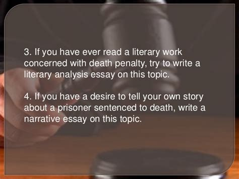 Benefits Of Penalty Essay by How To Start An Essay About The Penalty