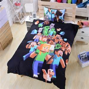 Minecraft Duvet Cover Set Minecraft Duvet Set Bedding Bedroom Single Double Queen