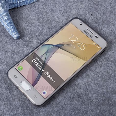 Samsung Galaxy J5 Prime Clear Doff Casing Cover Bumper Armor Hybrid clear touchable front back tpu mobile cover for samsung