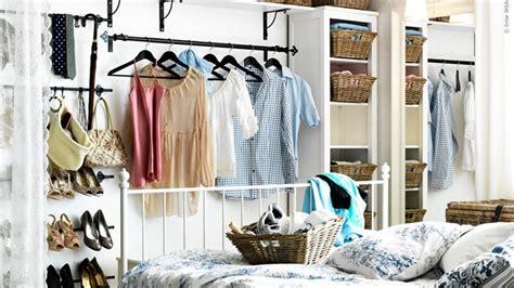 Diy Open Closet by Stylish Open Bedroom Closet Ideas